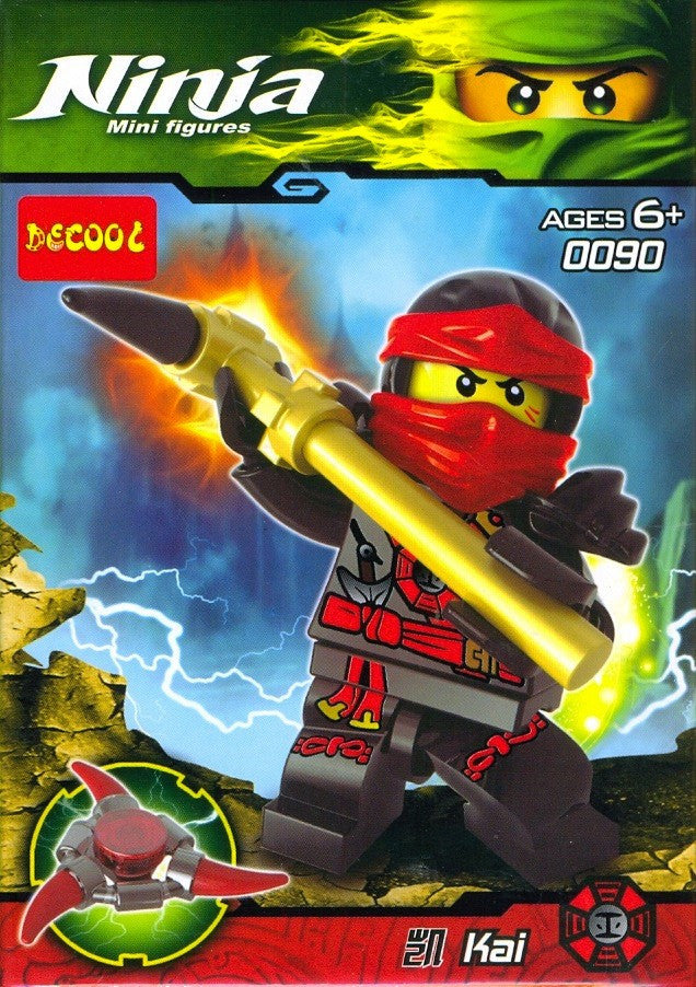 Ninja Kai Mini Figure 0090