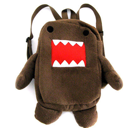 "Domo Kun 14"" Plush Toy Backpack"
