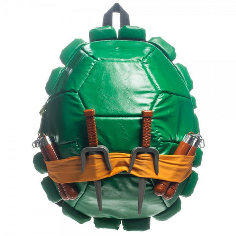 Teenage Mutant Ninja Turtles Shell Backpack with Weapons & Masks