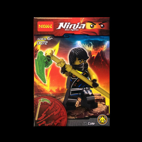 Ninja Cole Mini Figure 0072
