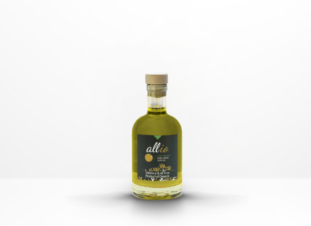 ultra premium extra virgin olive oil in a 2500ml glass bottle
