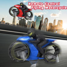 Load image into Gallery viewer, (Best Christmas Present )2 In 1 Remote Control Motorcycle Land And Air