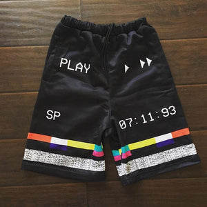 Player fashion street style shorts