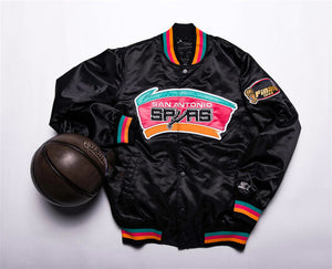 Basketball sport style men's jacket