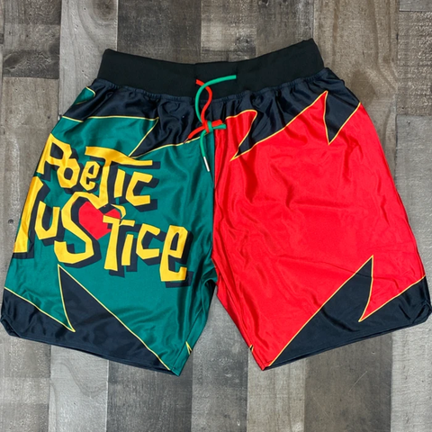 POETIC JUSTICE TWO TONE SHORTS