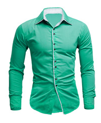 New youth slim casual shirt