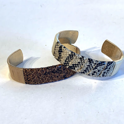 Bracelet, Cuff with Snake - Danshire Market and Design