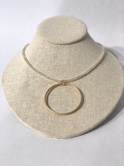 Necklace, Circle of Love, Winter - Danshire Market and Design
