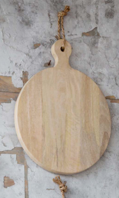 Cutting Board, Round, Med - Danshire Market and Design