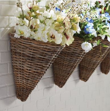 Wall Basket, Brittany - Danshire Market and Design