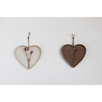 Stoneware, Hanging Heart - Danshire Market and Design