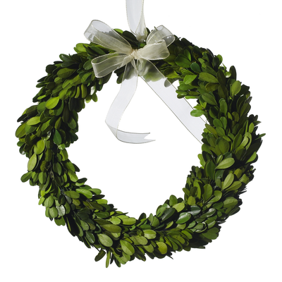 Wreath, Boxwood, Mini, 10 - Danshire Market and Design