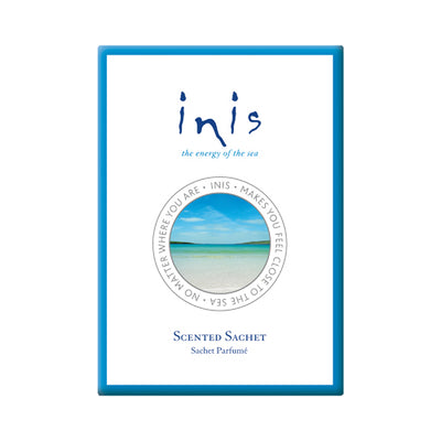 With a scent as fresh and uplifting as a sunny day by the sea, now you can fragrance your home, car, handbag, drawer, office and more, all with the sparkling scent of Inis the Energy of the Sea. Fragrance for your home