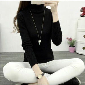 Sweater Female 2020 Autumn Winter Cashmere Knitted Women Sweater And Pullover Female Tricot Jersey Jumper Pull Femme Tops
