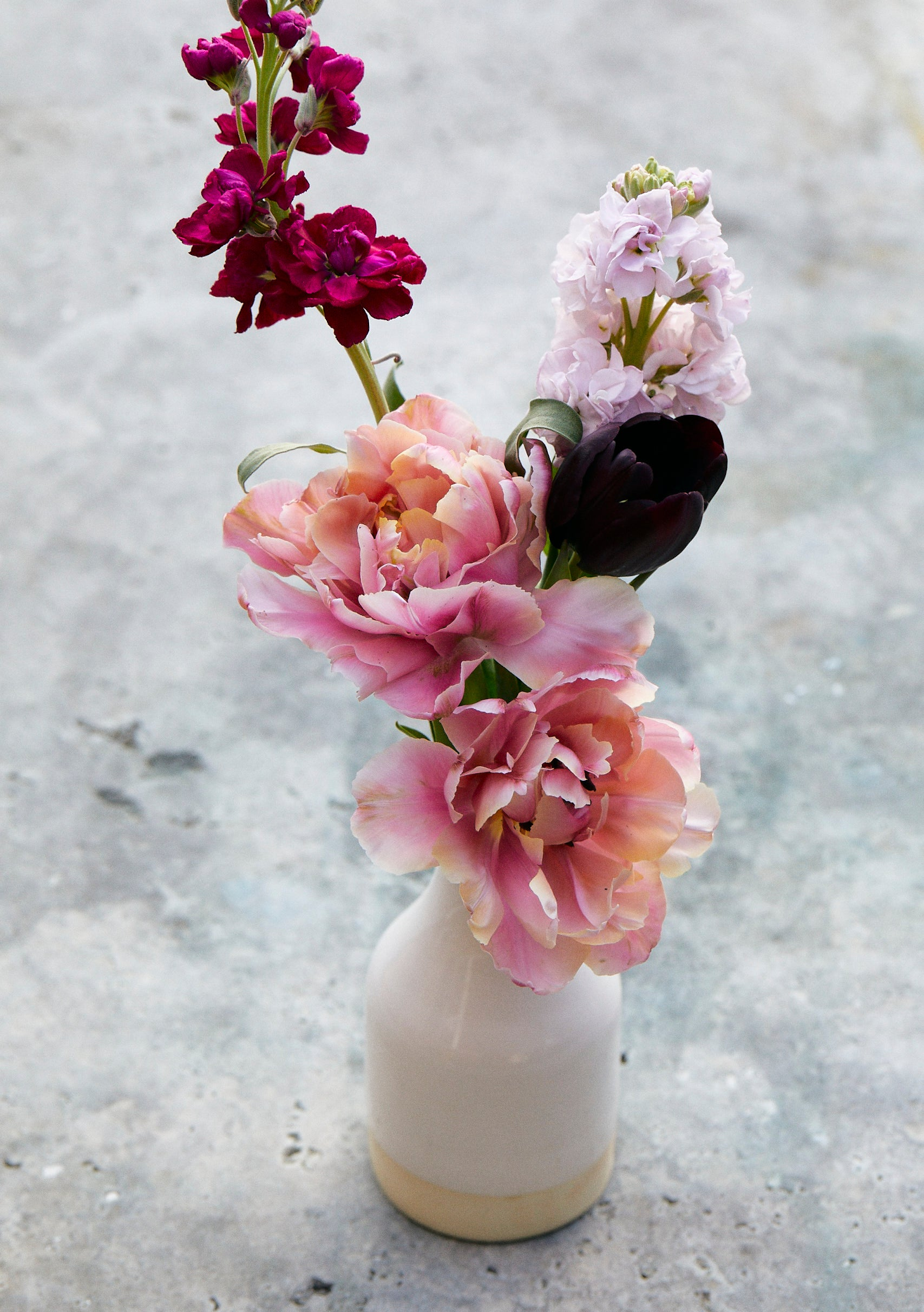 Mother's Day Flower Filled Bud Vase