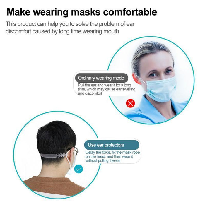 Comfortable Mask Ear Cord Extension Buckle