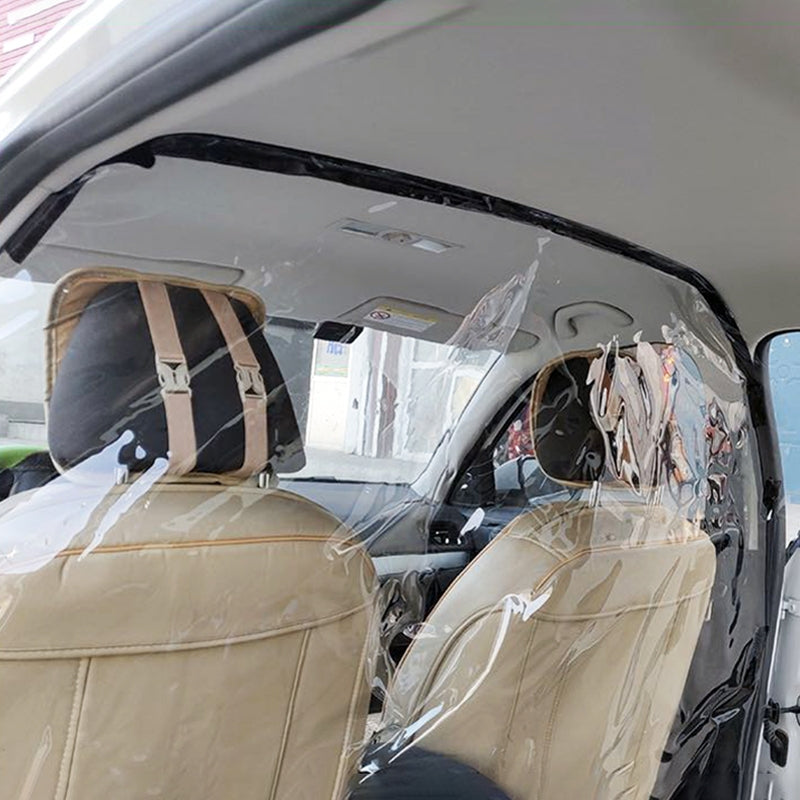 Universal Car Quarantine Transparent Anti-spray Shield Anti-Saliva Protective Film