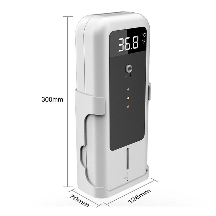 Infrared Thermometer + Automatic Infrared Sensor Sterilization Dispenser with Tripod Mount Holder