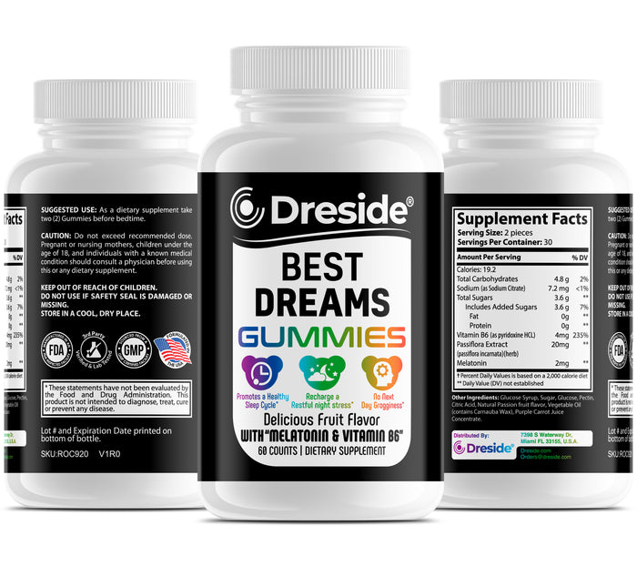 Best Dreams - Melatonin Gummies