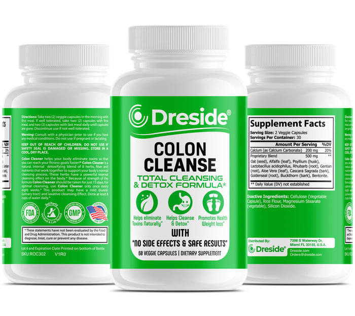Colon Total Cleanse & Detox Formula