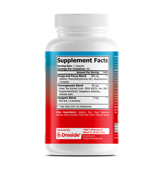 Oxy-Burn - Advanced Fat Burning Weight Loss Formula for Men and Women