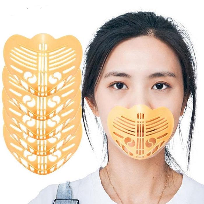 3D Mask Filter Bracket Anti-suffocating Reusable Non-stick Mouth Nose Breathable Dustproof Mask Inner Pad Bracket