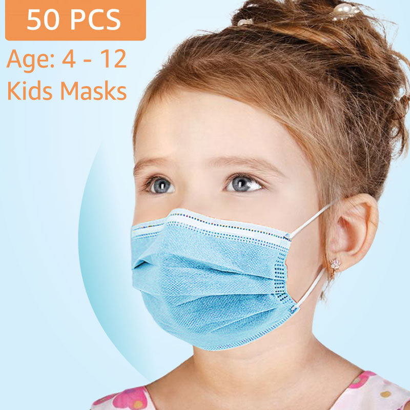 3Ply Mask for Kids (50pcs box)