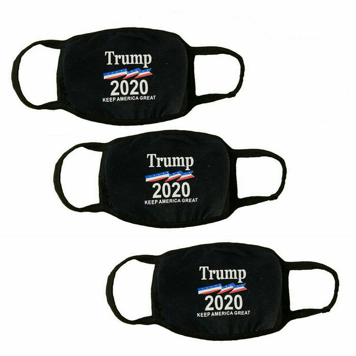 Trump 2020 Keep America Great face mask