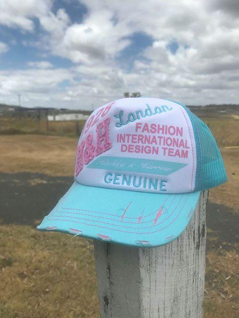 VIP Pale Blue and Pink Trucker Cap (Reward)