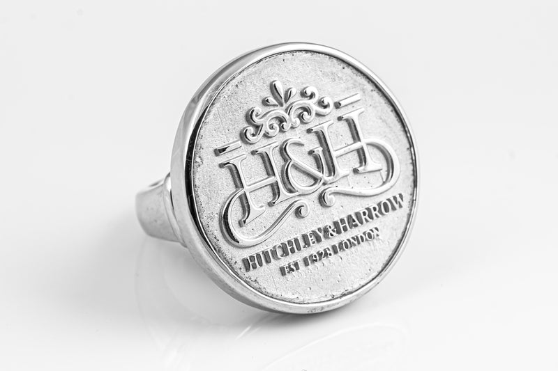 SS16 Silver H&H Logo Ring