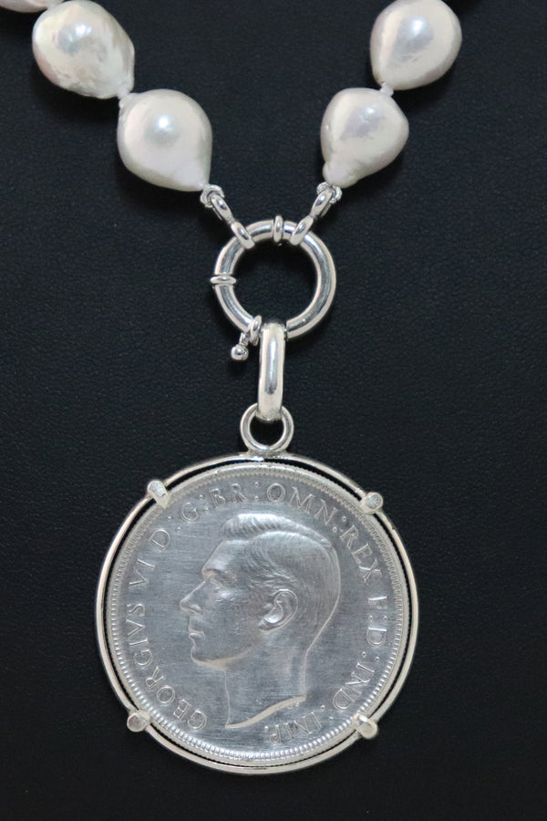 P22 Crown Coin Pendant