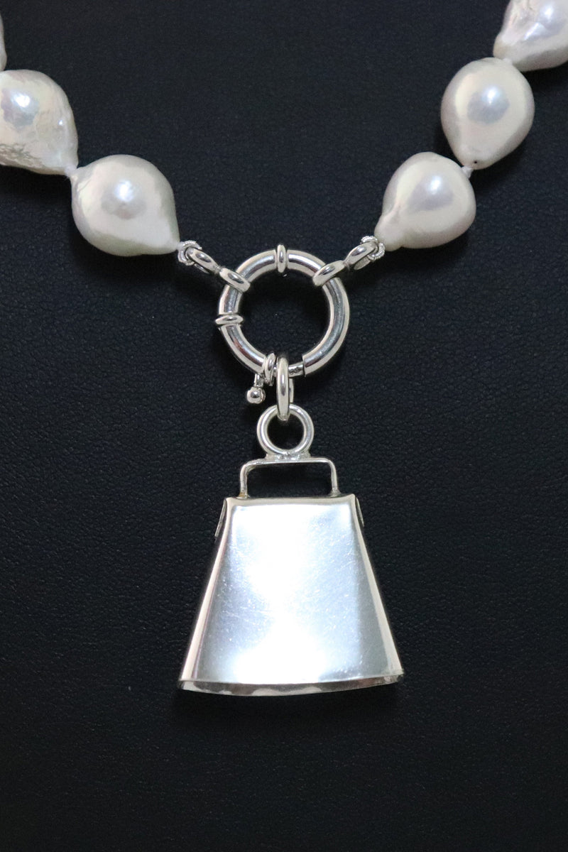 P26 Medium Cowbell Pendant