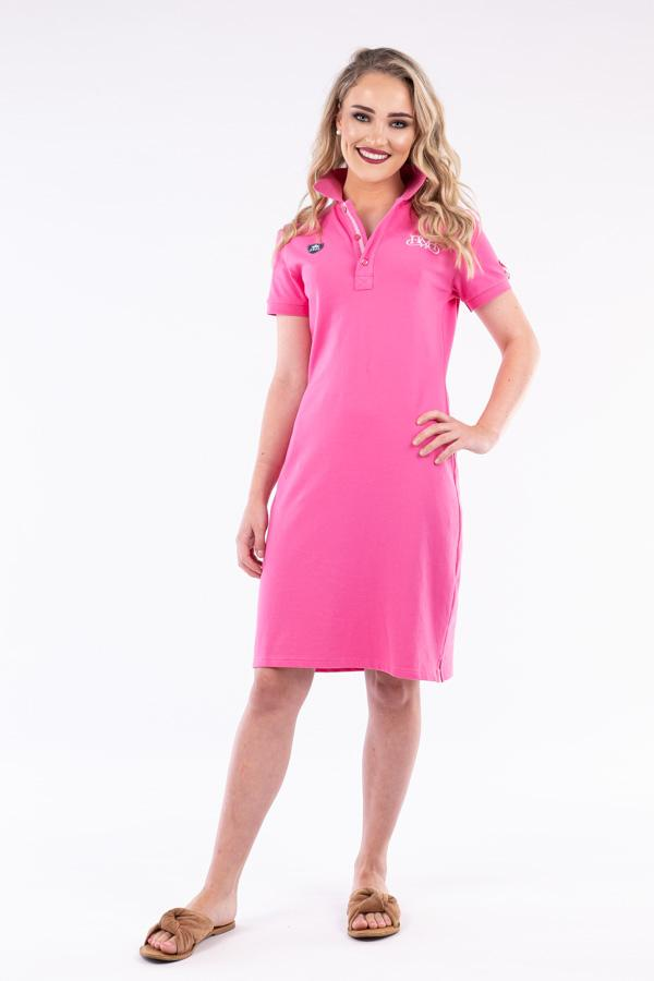 PD03 Pink Limited Edition Polo Dress