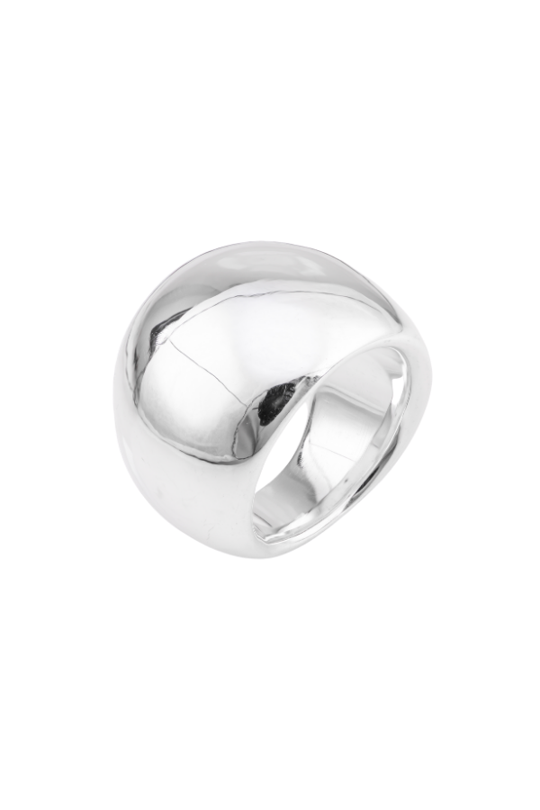 SS14 Silver Ring (Oval Plain)
