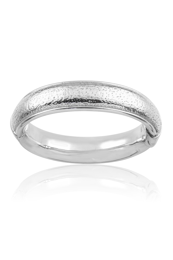 SS25 Stipple Hinged Bangle
