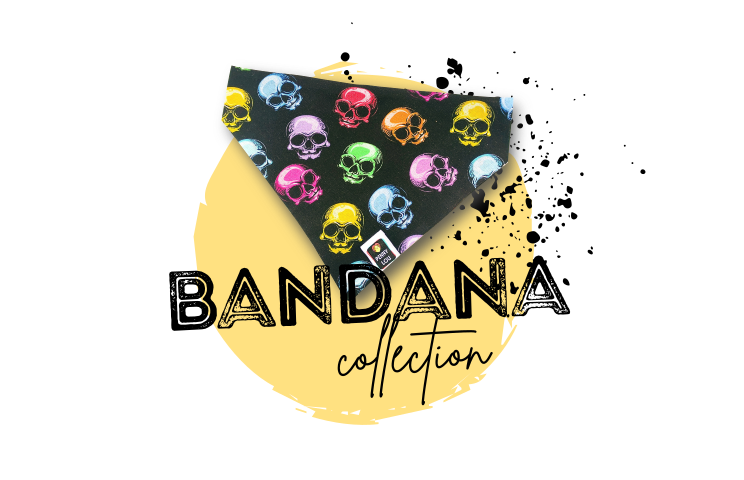 Penny Lou UK - Funky Dog Collars, Leads and Accessories   Bandana Collection