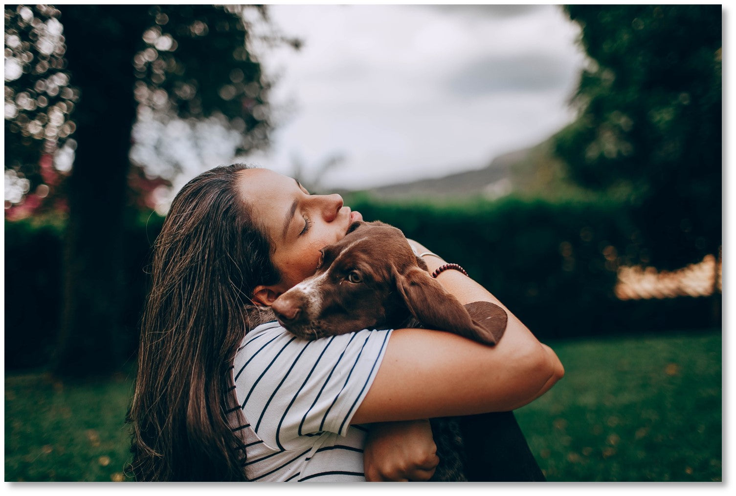 Penny Lou UK Blog   Bond With Your Dog - Person cuddling a dog
