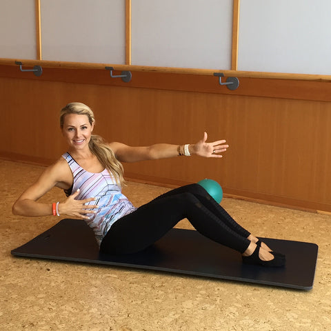 Barre Core + Cool Down with Kari Johnson