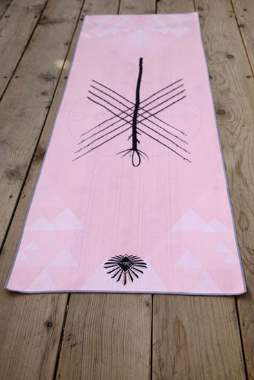 The 9 of Wands Yoga Mat Towel
