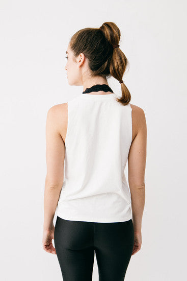 Basics Natural Bamboo Muscle Tee