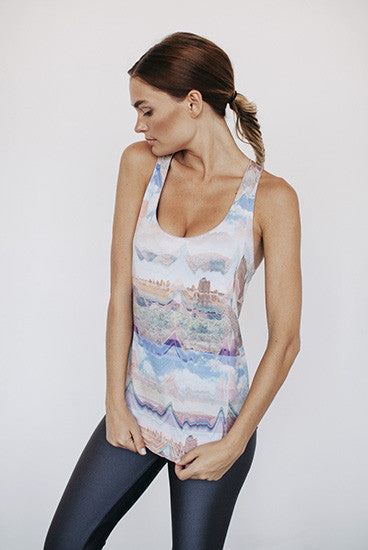 Bohemian Let's Talk Yoga Tank Top