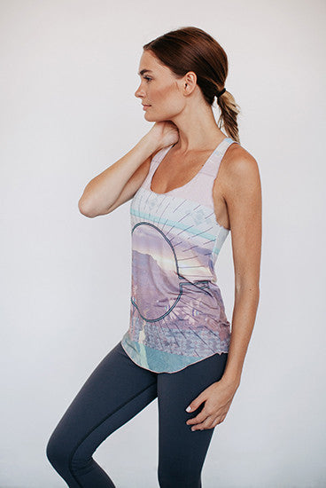 Bohemian The Sun Yoga Tank Top
