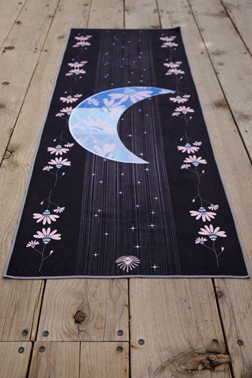 The Moon Yoga Mat Towel