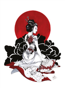 Geisha Rouge by Kudnalla
