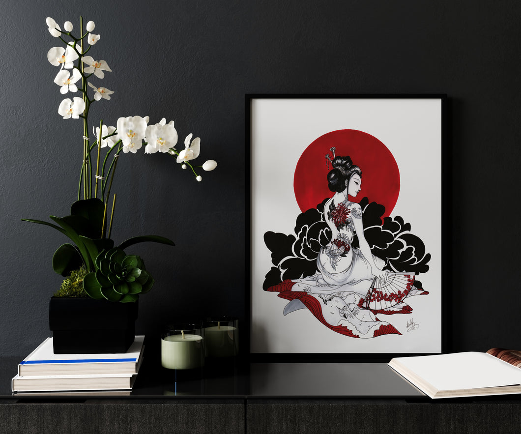 Red Geisha forex by Kudnalla