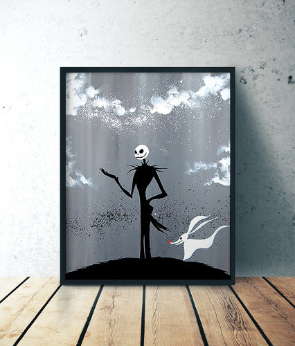 Nightmare Before Christmas acrylic forex by Kudnalla