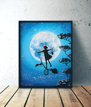 Charger l'image dans la galerie, Kiki the witch ghibli acrylic forex by Kudnalla