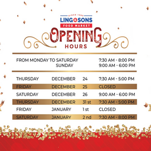 L&S Holiday Opening Hours