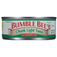 Bumble chunk light tuna in oil 5oz (4769213644937)