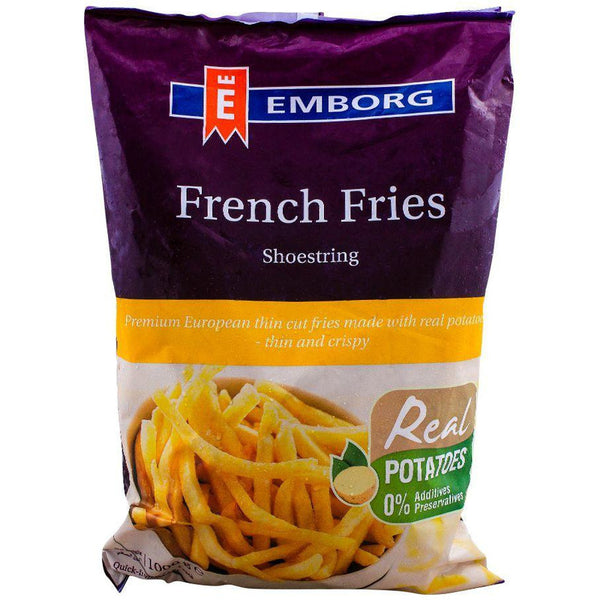 Emborg French Fries Shoestring 1kg